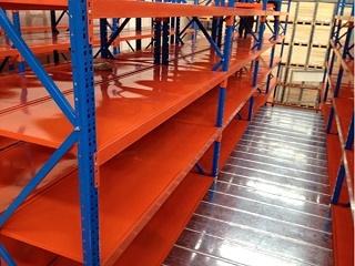仓储货架厂:阁楼货架细节展示