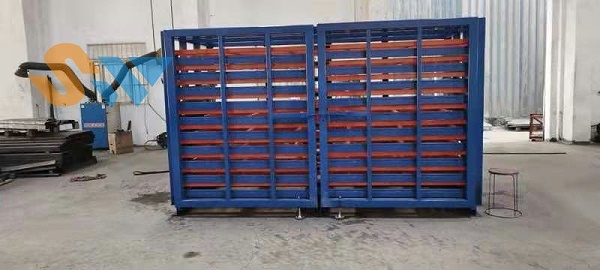 调试好的板材存储货架 (1)
