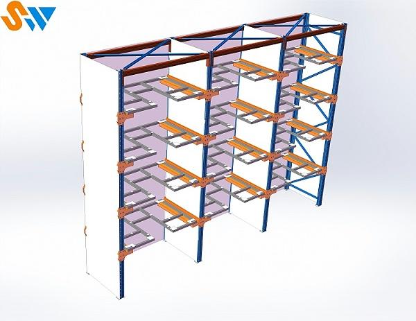森沃仓储模具货架效果图 (2)