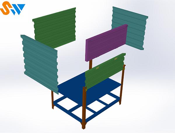 森沃仓储:吊挂式钢制料箱 (2)