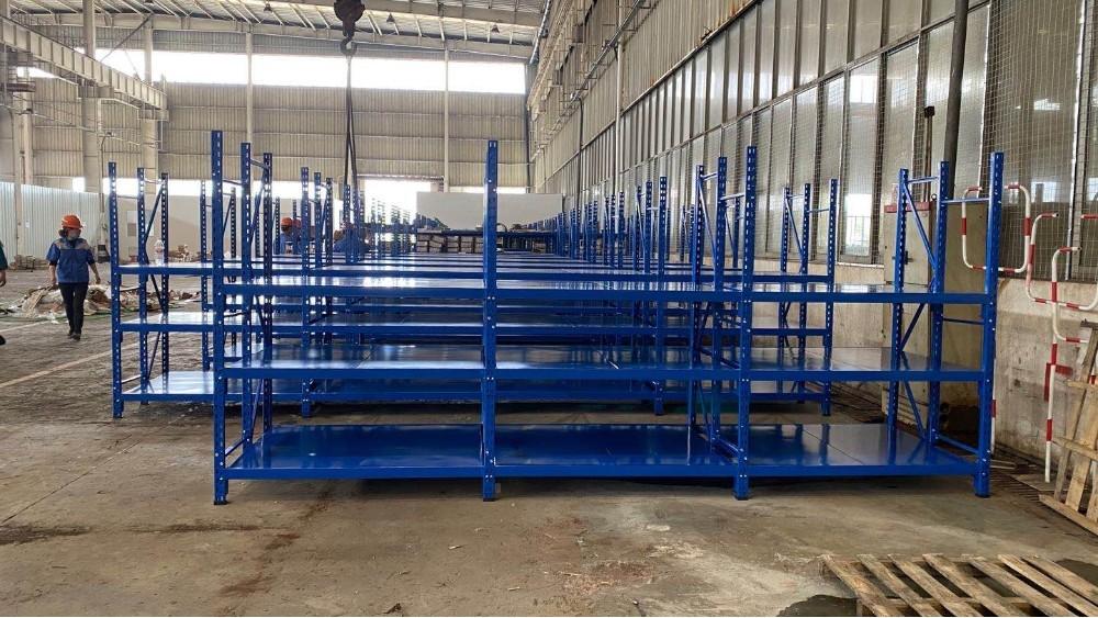 三立柱层板货架定做案例展示