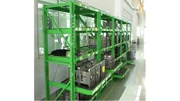 模具(抽屉式)货架定制案例展示--森沃仓储