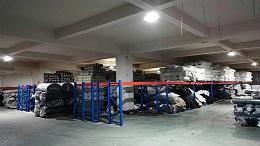 布匹布料横梁货架项目正式完工,货架定做厂家请你观赏!