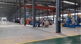 森沃仓储和宝胜的合作-电缆货架