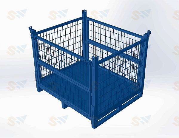 森沃仓储:钢制料箱4