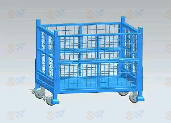 森沃仓储:钢制料箱2