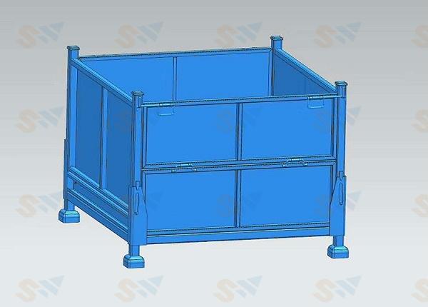 森沃仓储:钢制料箱5
