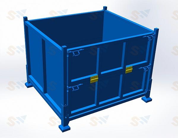 森沃仓储:钢制料箱8