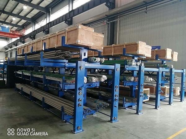 森沃仓储:伸缩式 悬臂货架案例现场 5