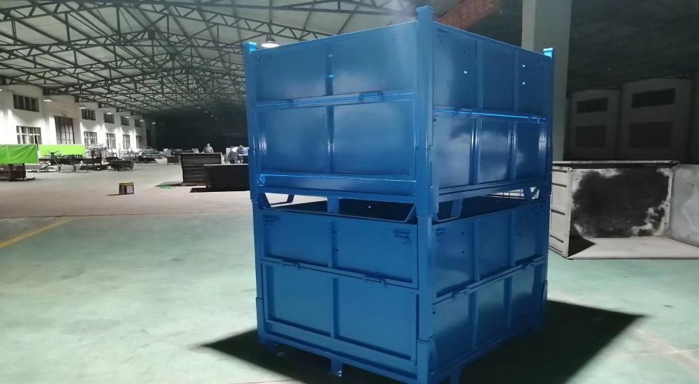 钢制料箱合作定制案例展示