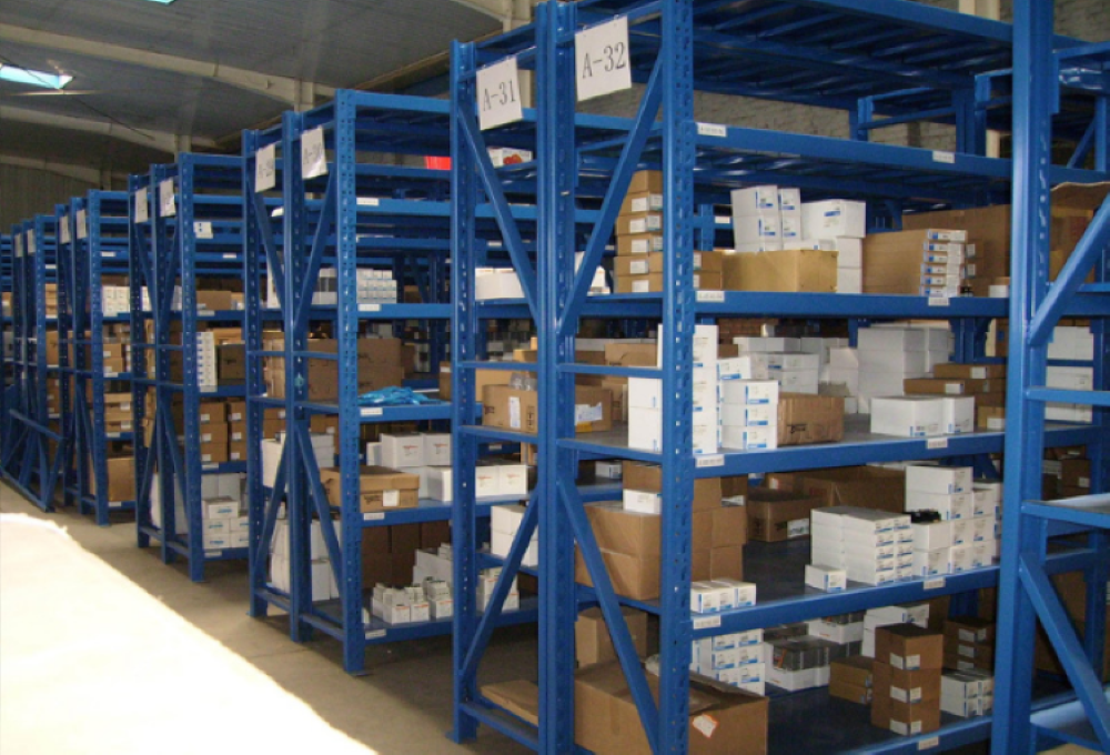 森沃仓储与医药行业的合作案例——层板货架