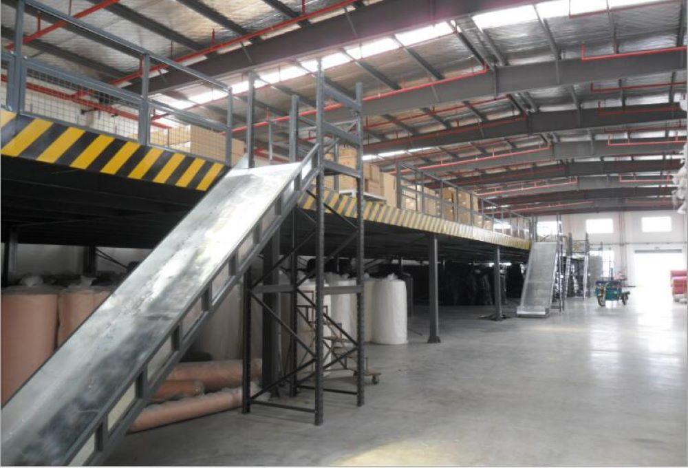 森沃仓储和实联长宜公司的合作案例:重型货架