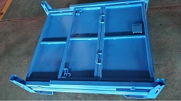 钢制料箱定制案例展示,森沃仓储邀你欣赏!