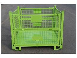 南京钢制料箱厂家教您如何折叠钢制料箱