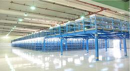 森沃仓储和某大型服装品牌的合作:阁楼货架