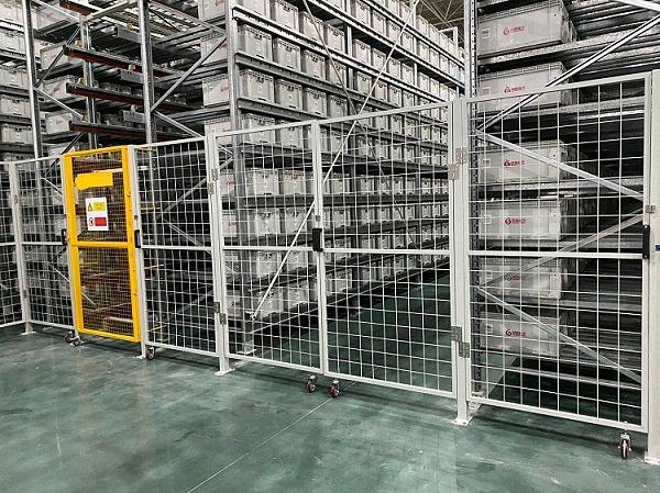 森沃仓储:料箱式自动化立体库 (5)