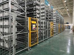 南京仓储货架厂家带你参观料箱式自动化立体库现场