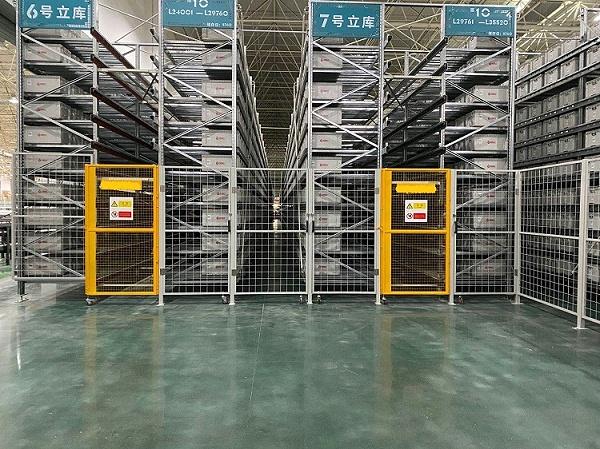 森沃仓储:料箱式自动化立体库 (4)