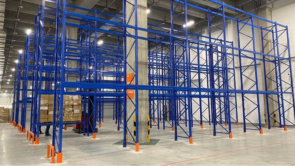 三立柱高位货架项目案例