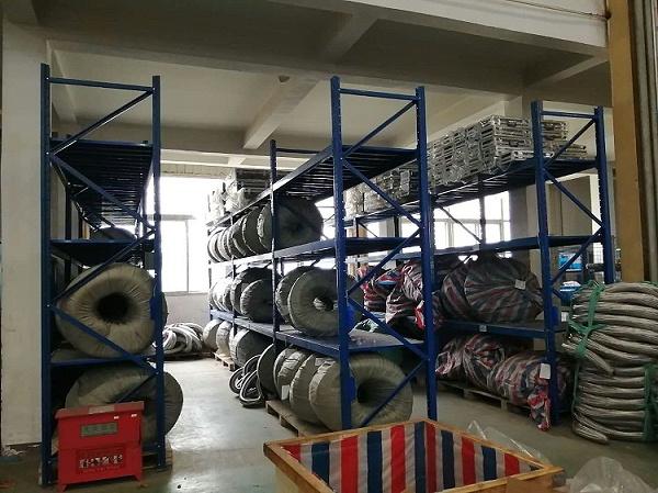 森沃仓储:重型层板货架案例图2