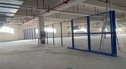 森沃仓储成功案例:隔离网项目安装结束