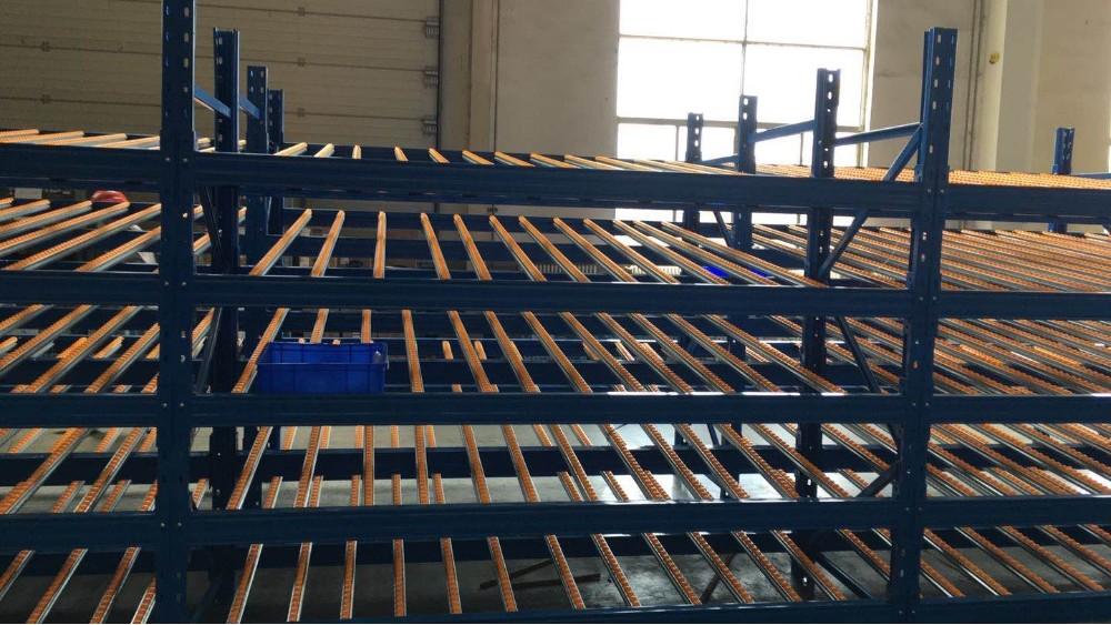 仓储货架制造厂:流利式货架合作案例展示