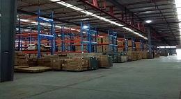 森沃货架厂家:横梁货架定做案例