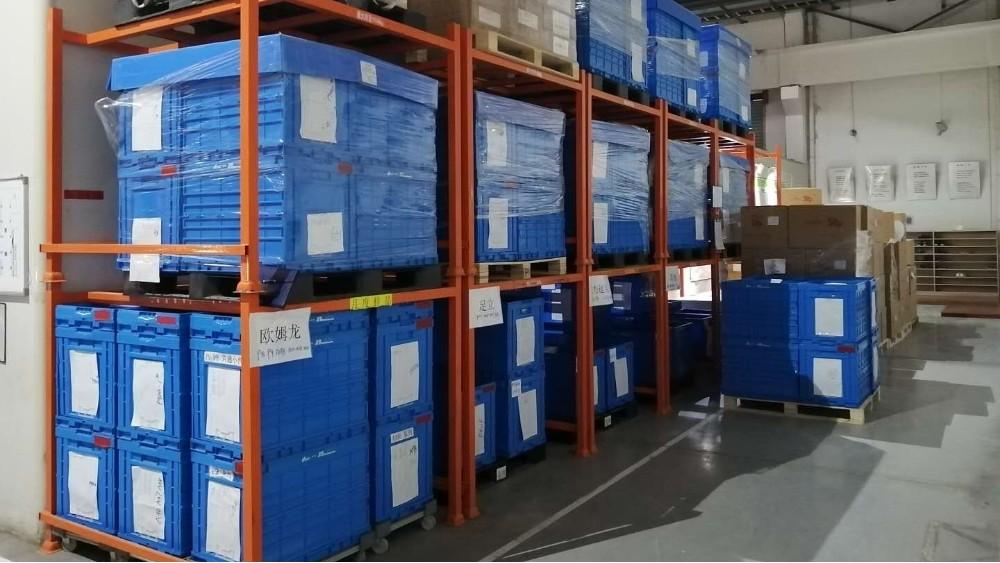 南京货架厂家:堆垛架定做案例