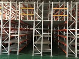 森沃仓储:二层阁楼式货架上下货的方式