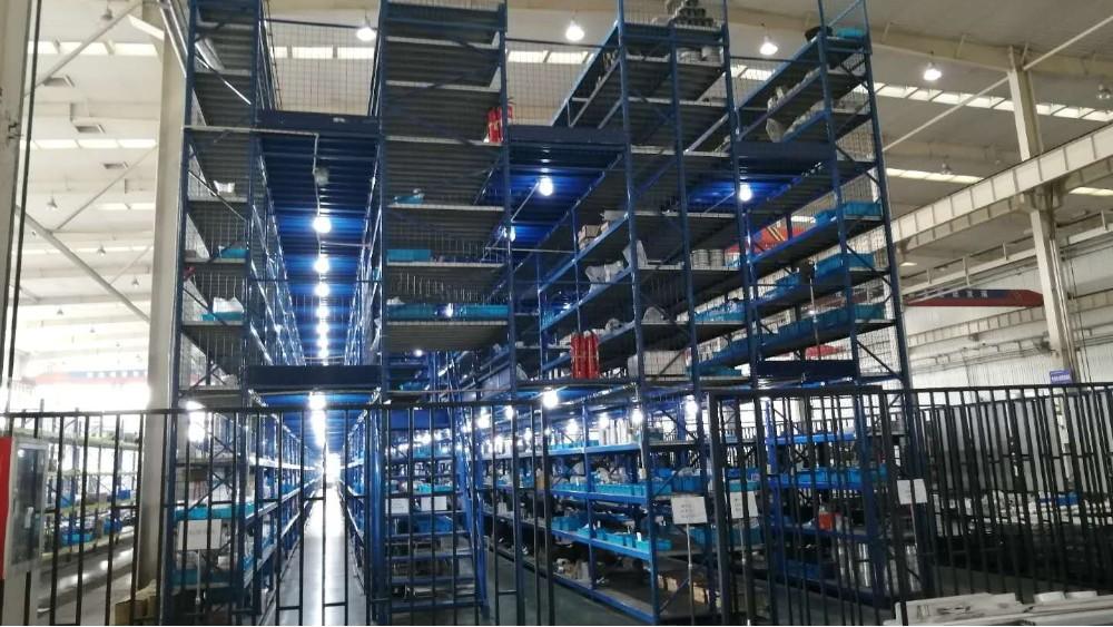 森沃仓储:阁楼货架合作案例