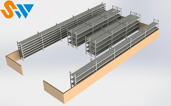 森沃仓储层板货架 (2)
