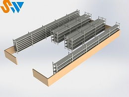层板货架一对一设计定制,来森沃仓储