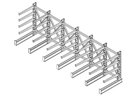 悬臂货架厂家详细介绍:悬臂货架的组构部件