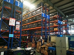 重型横梁式货架如何安置仓储笼