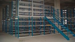 森沃和物流仓储行业的合作:钢平台货架