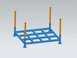 堆垛架(巧固架、堆垛货架、移动式货架)的日常维护注意事项