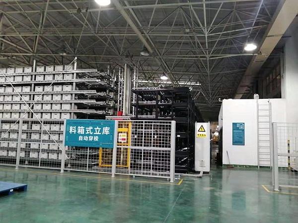 森沃仓储:料箱式立体库 (2)