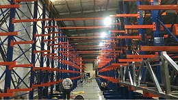 南京货架厂家:悬臂货架定做案例展示