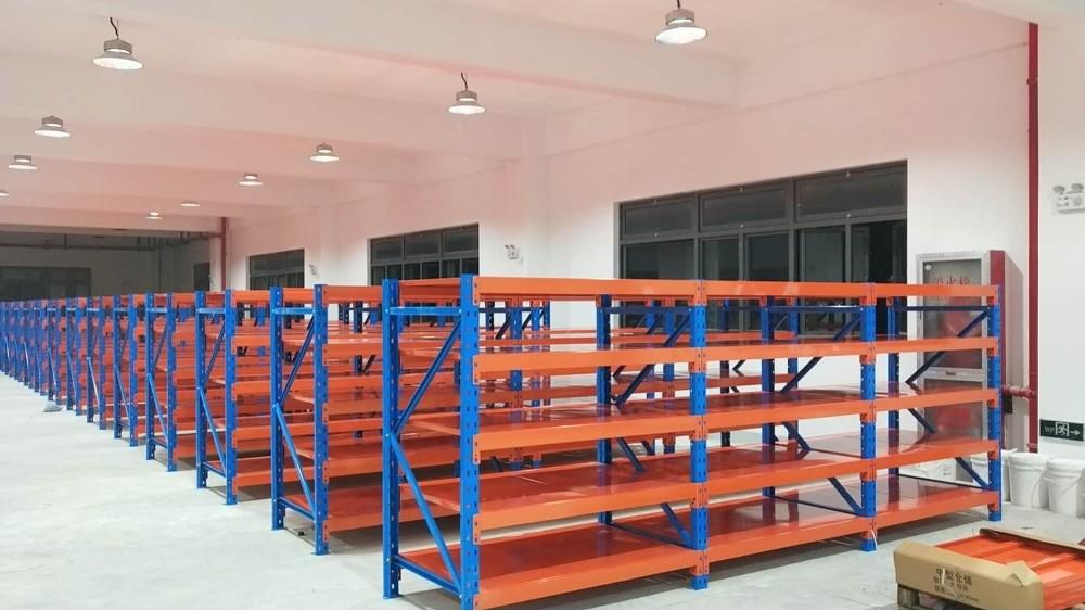 森沃仓储:层板货架订做案例展示