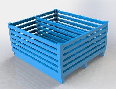 森沃仓储:非标钢制料箱 (1)