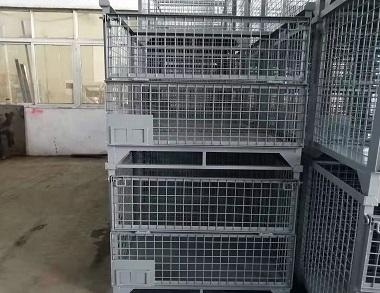 森沃仓储:固定式钢制料箱 (2)