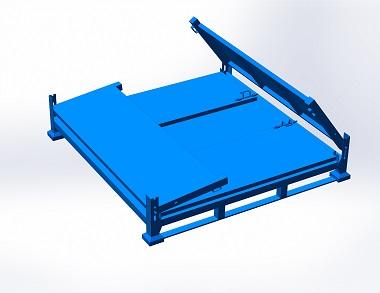 森沃仓储:折叠钢制料箱 (2)