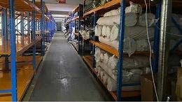 森沃仓储分享:重型层板货架定制案例现场