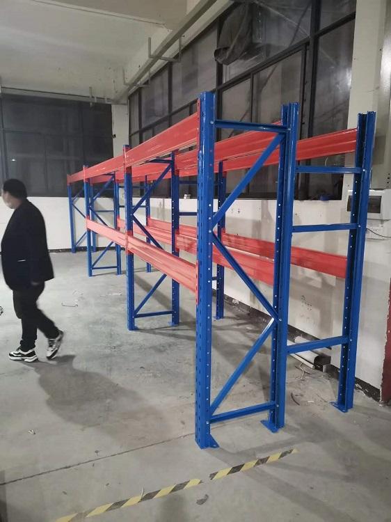 森沃仓储:布料布匹重型货架,两层梁三层货
